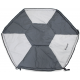 VeeBee Play Mat for Continental 6 Sided Play Yard - Marble Grey