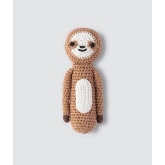 Weegoamigo Crochet Rattle - Sleepy Sloth