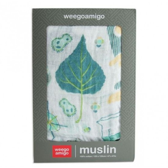 Weegoamigo Single Pack Muslin - Chemistry