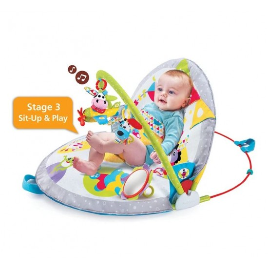 Yookidoo Gymotion Lay To Sit-Up Play