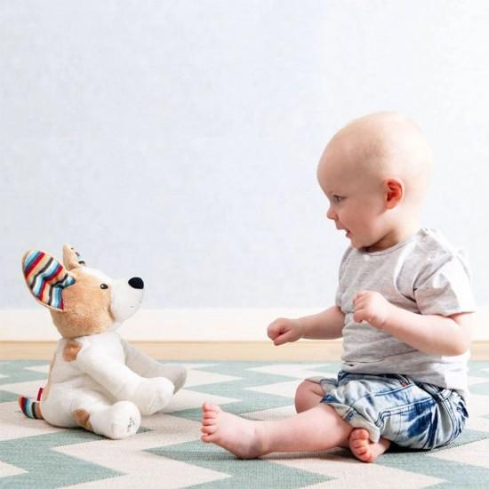 Zazu Danny The Dog Peek-A-Boo Soft Toy