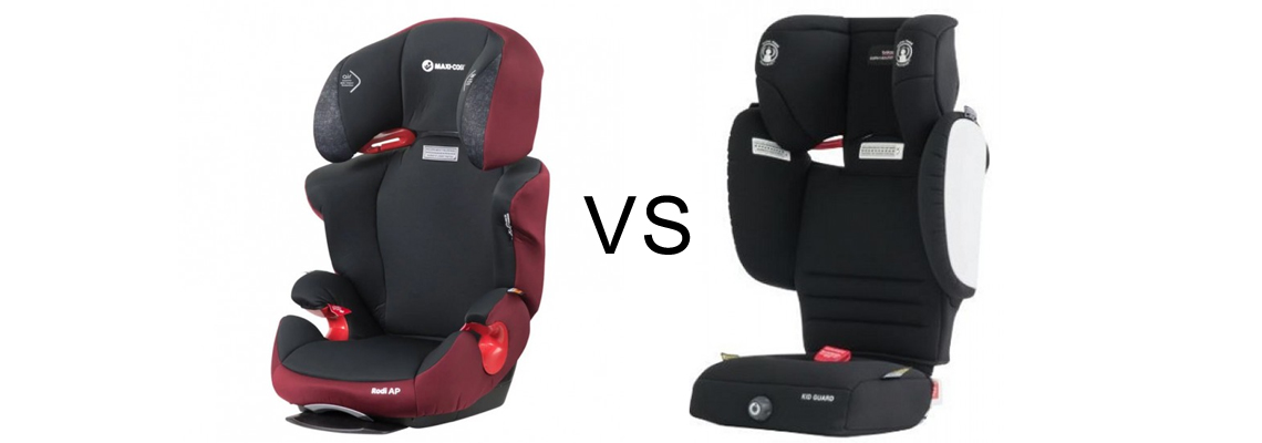Britax Safe n Sound Kid Guard vs Maxi Cosi Rodi AP Booster Seat