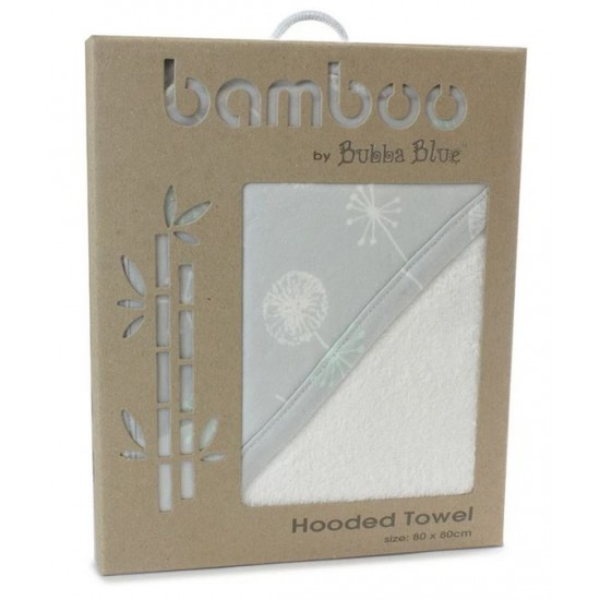 Bubba Blue Mint Meadow Bamboo Hooded Towel