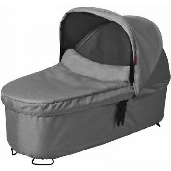 Phil&Teds Dash Snug Carrycot in Grey Marle* Ex display